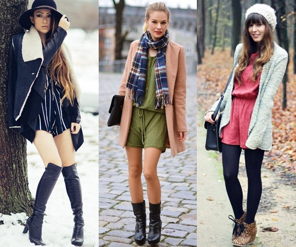 Playsuit Fashion for Winter and Fall Seasons