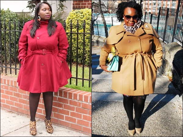 Plus Size Coats for Women with Large Bust