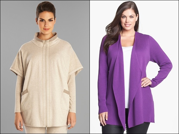 Plus Size Coats made of Cotton