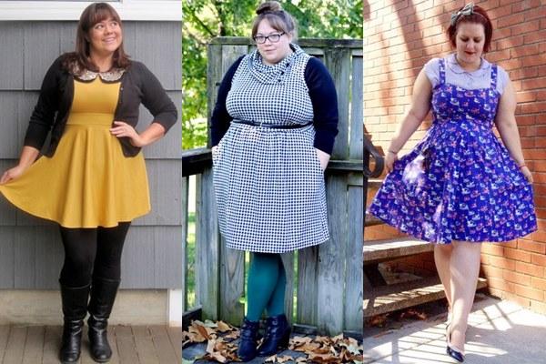 Plus Size Dress Outfit Ideas by Modcloth