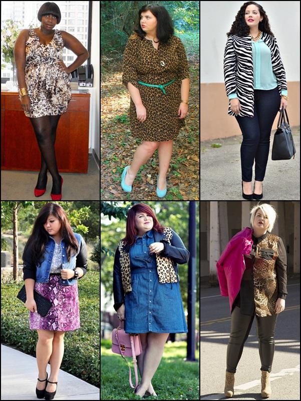 Animal Prints Fashion Look for Plus Size Women
