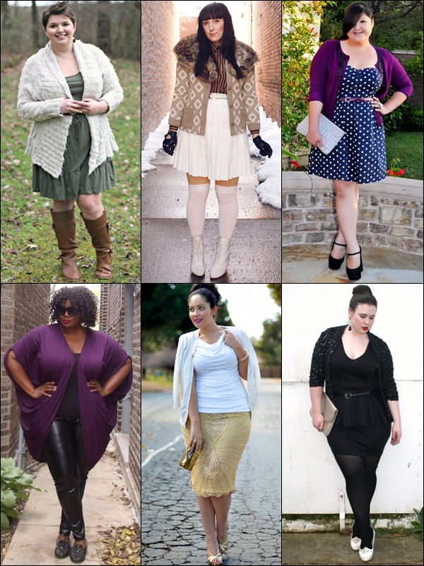 Cardigans Fashion Look for Plus Size Women
