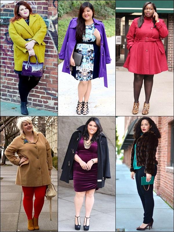Coats Fashion Look Plus Size Bloggers
