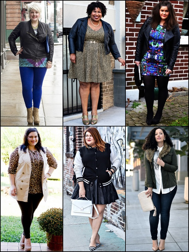 Jackets and Vests Fashion Look for Plus Size Women