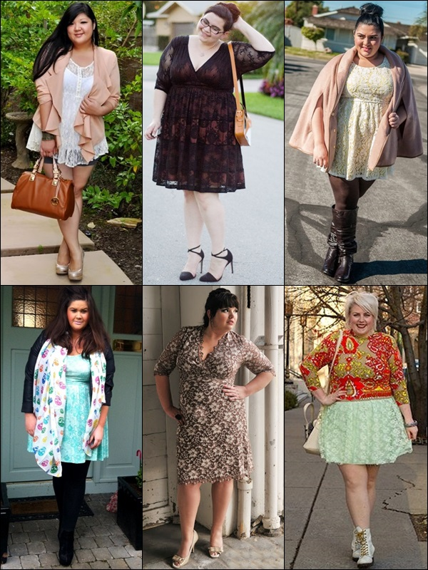 Lace Fashion Look for Plus Size Women