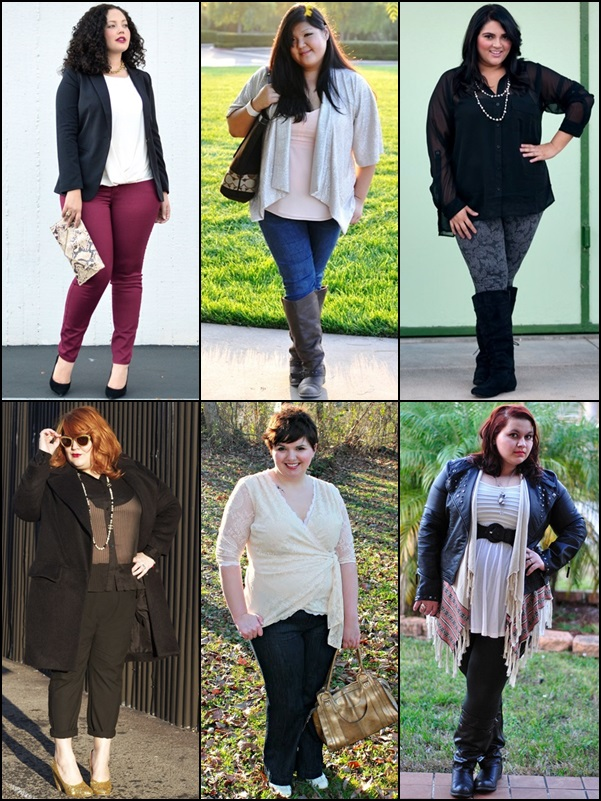 Pants or Trousers Fashion Look for Plus Size Women