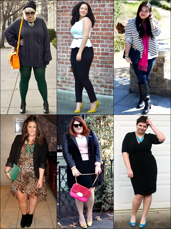 Pops of Color Fashion Look for Plus Size Women