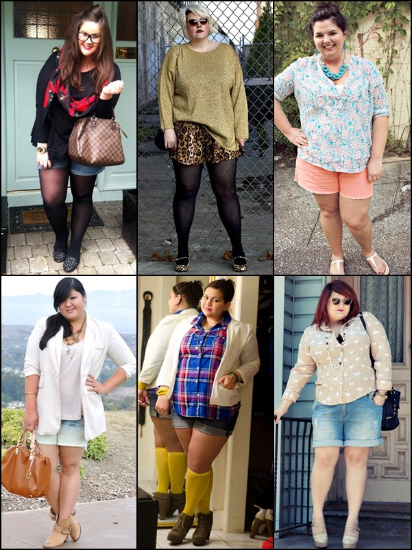 Shorts Fashion Look for Plus Size Women