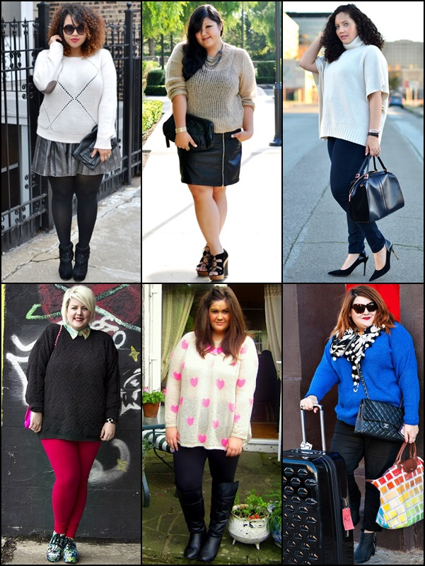 Sweaters Fashion Look for Plus Size Women