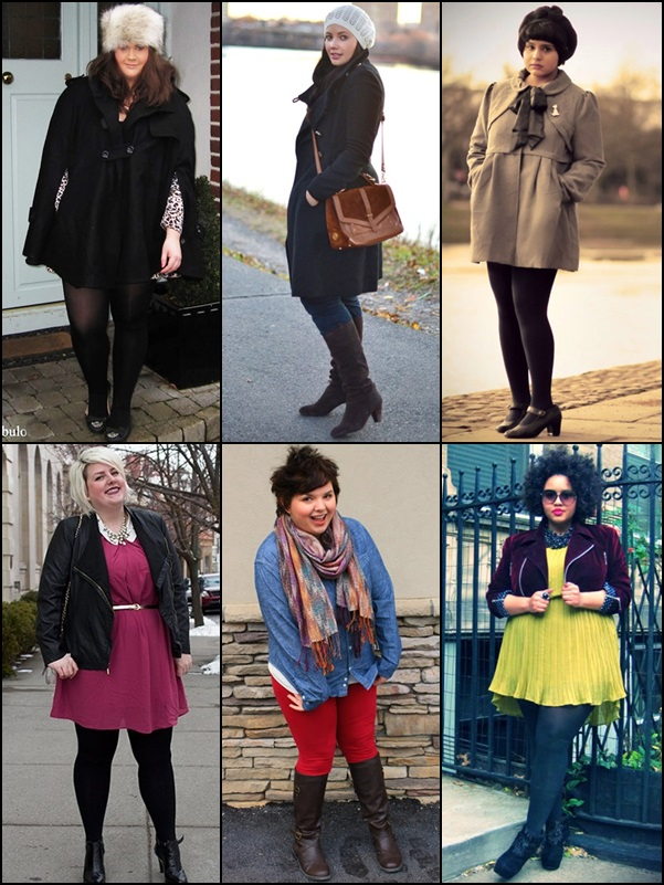 Winter Fashion Look for Plus Size Women