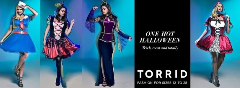 Plus Size Halloween Costumes 2014 Collection by Torrid