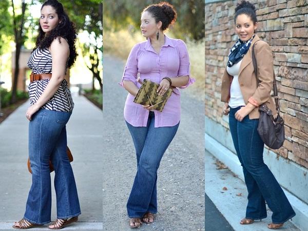 Plus Size Wide Leg Jeans Inspiration