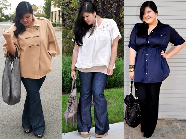 Plus Size Flare Jeans Inspiration