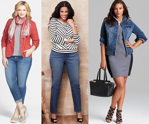 Spring Summer 2014 Denim Plus Size Fashion Trends