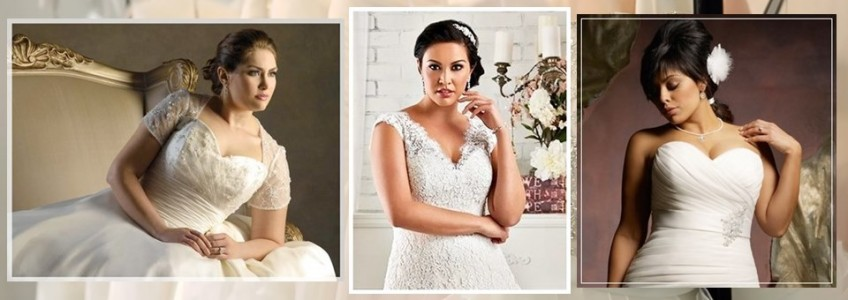 Plus Size Wedding Dress Shopping Tips and Ideas from Five Bridal Stores (Part 1)