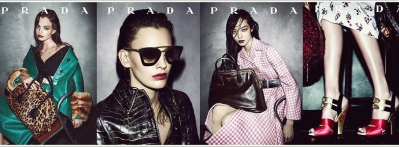 Prada Fall Winter 2013 Ad Campaign