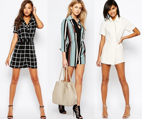 Choices of Playsuit Office Attire from ASOS