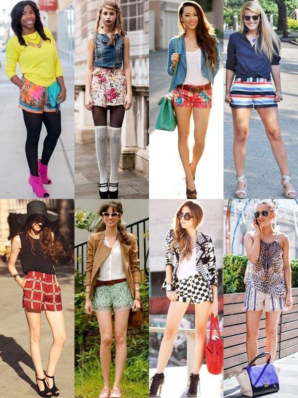 Printed Shorts Styles