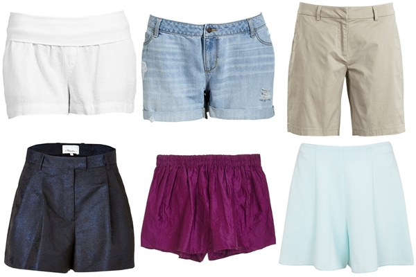 tailored shorts are really flattering as it sits low on the hip and is cut loose