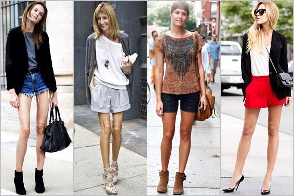shorts for skinny legs women's