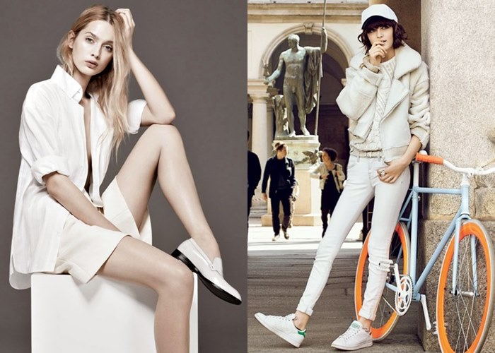 Prepare your white sporty staples that accentuate more to the chicness side rather than a gym-look
