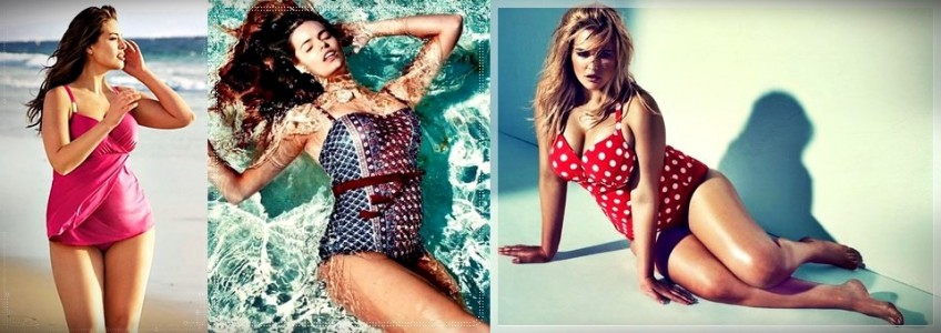 Spring Summer 2014 Plus Size Swimsuit Collection from Various Stores