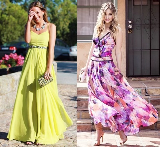 Flowy Look Wedding Guest Maxi Dress Ideas