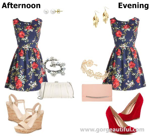 Floral Wedding Guest Dress for Spring and Summer