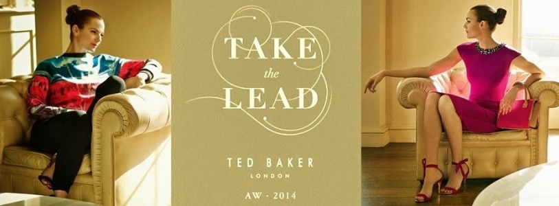 Ted Baker Fall Winter 2014-2015 Take the Lead Women Lookbook