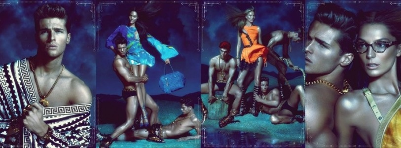 Versace Spring Summer 2013 Ad Campaign by Mert & Marcus
