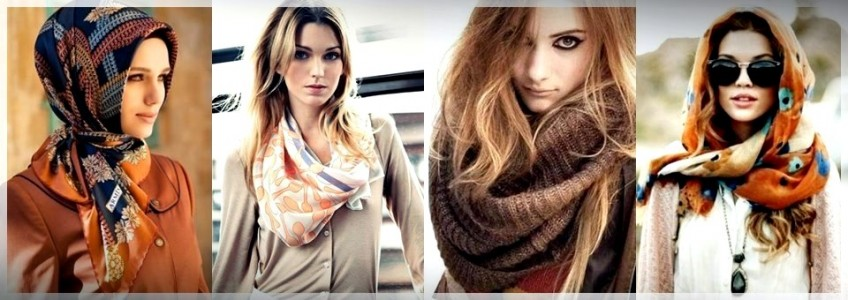 Ways to Tie a Scarf in Many Styles for Different Occasions (Part 2)
