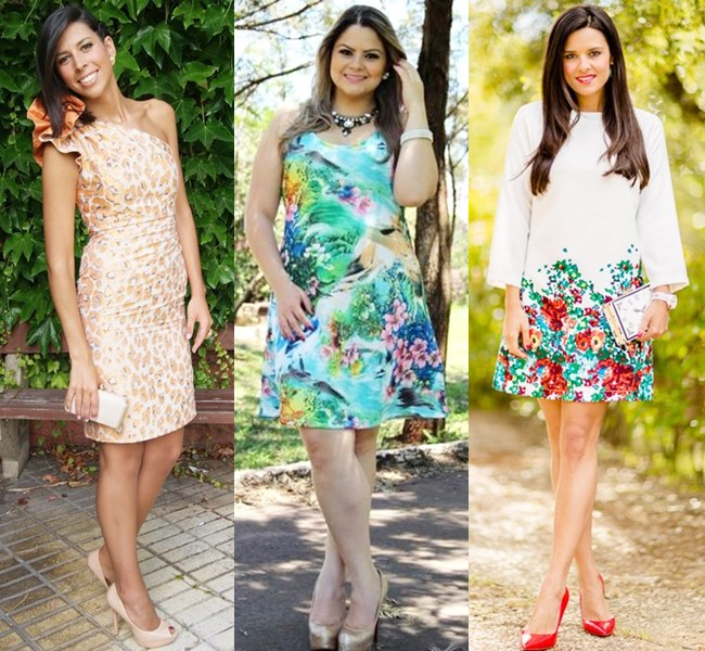 Wedding Dresses in Flower Prints