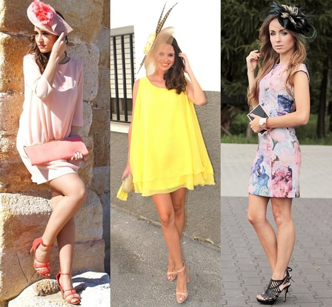 Wedding Guest Outfit Ideas with Fascinator Head Accessories
