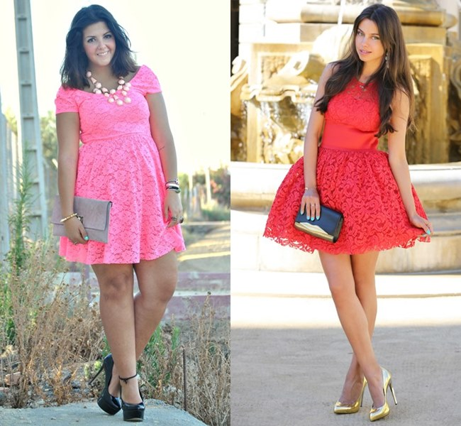 Romantic Wedding Guest Lacy Dress Ideas