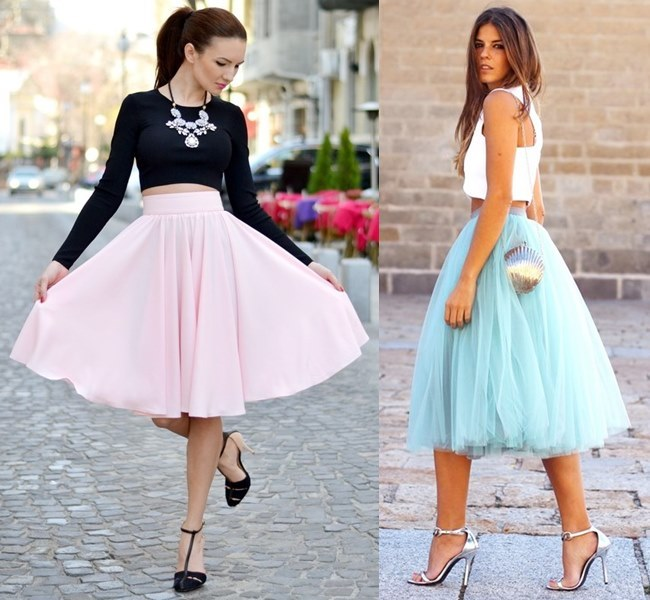 Wedding Outfit Ideas with Full Skirt