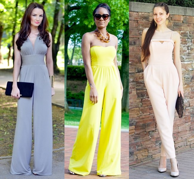 Wedding Outfit Ideas with Jumpsuit