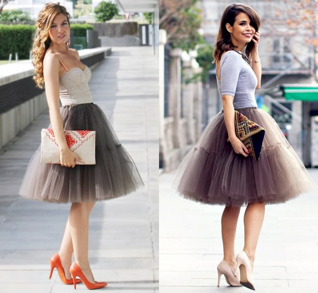 Girly Wedding Outfit Ideas with Tutu Skirt
