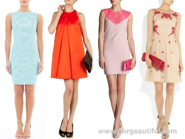 Afternoon Spring Wedding Guest Dresses