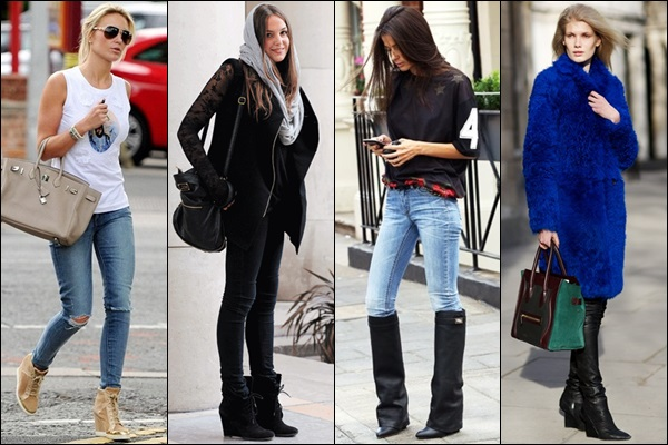 Wedge Boots Fashion Look