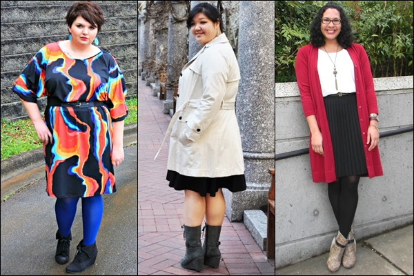 Wedge Boots Fashion Look for Plus Size Women
