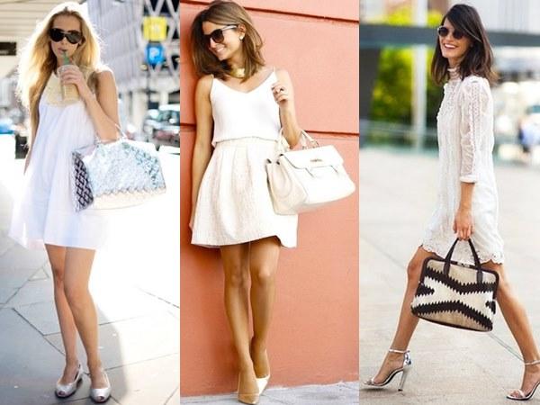 Daytime Wear All White Fashion Styles