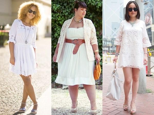 White on White Fashion with Dress