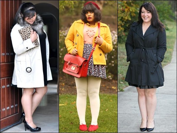 Plus Size Coats for Petite Figure
