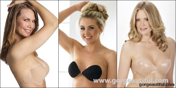 Adhesive Bras for Backless Dress