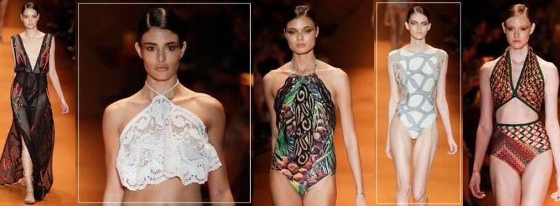 Agua de Coco by Liana Thomaz Swimwear Runway Shows Spring Summer 2016 Collection