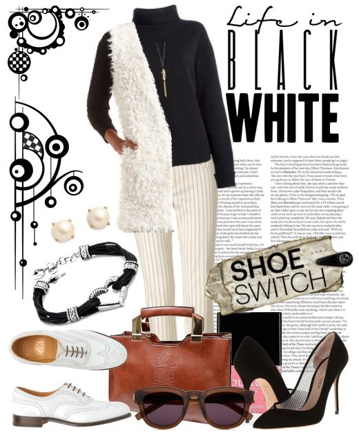 Black and White Spring 2015 Outfit