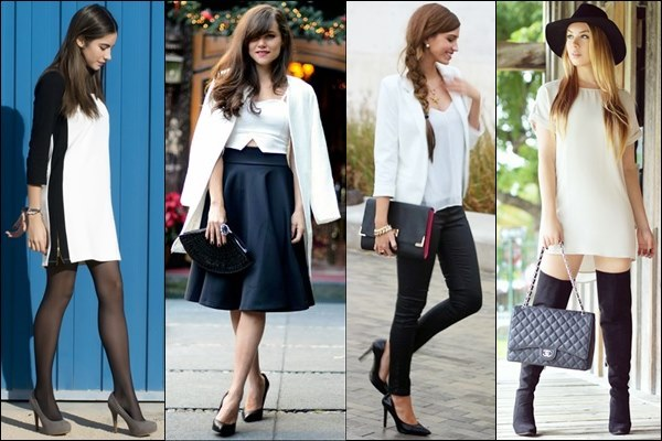 Black and White Street Fashion Style