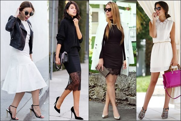 Black and White Street Fashion