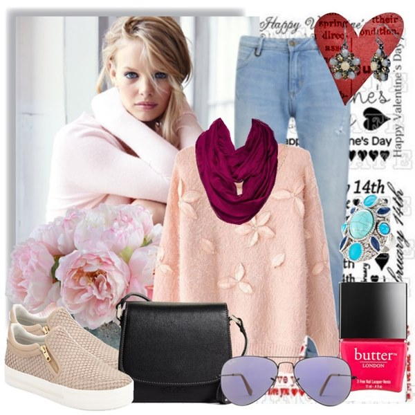 Casual Look for Valentine