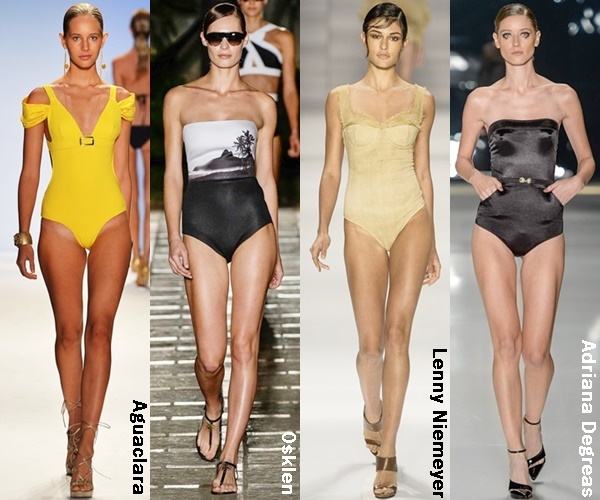 Classic One Piece Swimsuit 2015 Trend